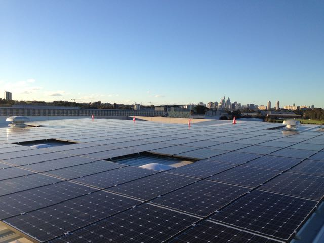 84kW Solar System installed in Alexandria, NSW.
